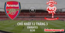 Link sopcast trận Arsenal - Lincoln tứ kết FA Cup 11/3/2017