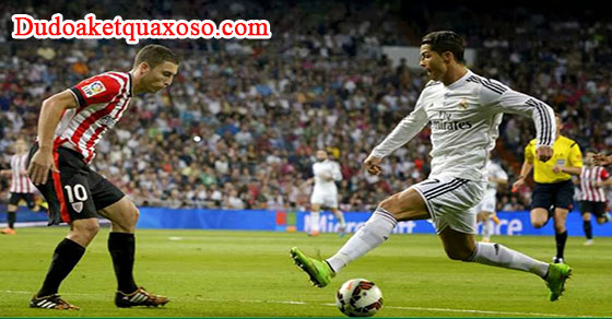 Link sopcast trận Athletic Bilbao - Real Madrid vòng 28 La Liga 18/3/2017