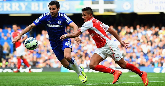 Link Sopcast, Acestream Arsenal vs Chelsea